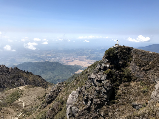 Scott Campbell visits Panama's tallest mountain, Volcan Baru.