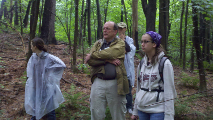 Touring the University of Vermont's Centennial Woods Natural Area.