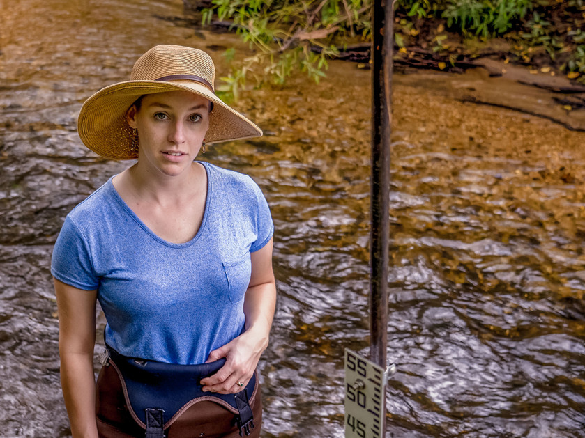 Lauren McGrath '12 is the director of the Watershed Protection Program at Willistown Conserva...