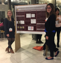Katie Raichle '18 and Brittani Schnable '19 present new research at the 2017 APS Conferences for Undergraduate Women in Physics(CUWiP).