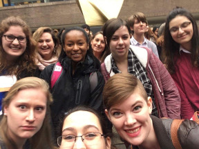 Ursinus students attend the 2017 APS Conferences for Undergraduate Women in Physics (CUWiP).
