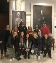 HEP Human Pathophysiology Class at the Mutter Museum