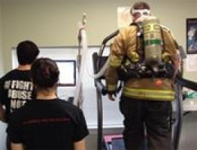 Firefighters in Collegeville and Trappe are participating in a study conducted by Ursinus College's Heart Lab.