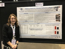 HEP Alum, Cassandra Derella '17, was the recipient of the American Physiological Association Graduate Abstract Award at the Experimental Biology 2019 Conference in Orlando, Florida.
