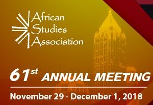 African Studies Association 61st Annual Meeting
