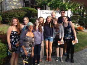 Prof. Shcroeder's ENGL 320 class field trip to see August Wilson's *Fences*