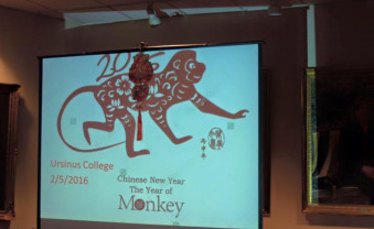 Students celebrate the Chinese New Year