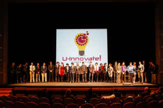 Students at the U-Innovate! Competition