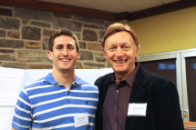 Jesse Krasna '14 with Del Engstrom, Health and Exercise Physiology Department Chair at the Spring...