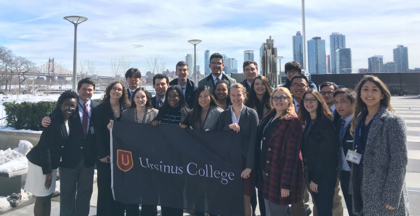 Ursinus at the United Nations