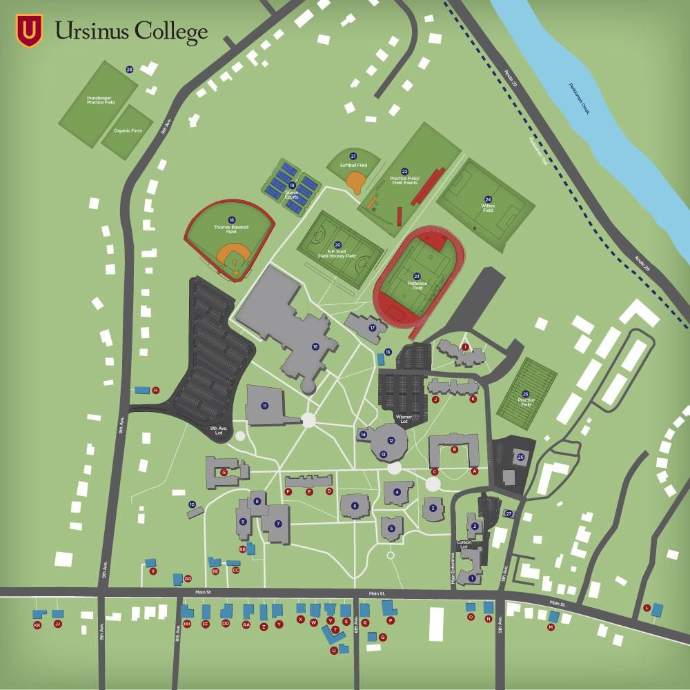 Campus Map About Ursinus Ursinus College
