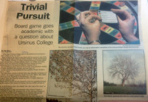 This 1993 story from the Times-Herald noted the Trivial Pursuit question about the Ursinus tree.