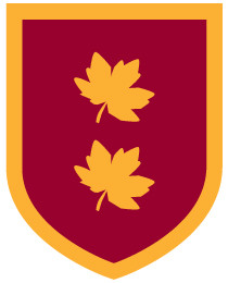 This crest shows leaves from the sycamore tree.