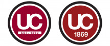 Older versions of the visual identity focused on the initials UC.