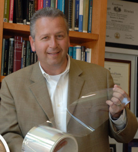 Joseph DeSimone '86 was winner of the prestigious Lemelson-MIT Prize in 2008.