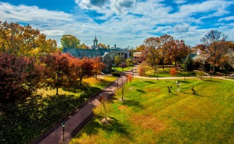 The campus of Ursinus College