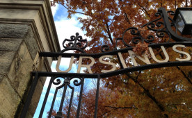 The gate to Ursinus College