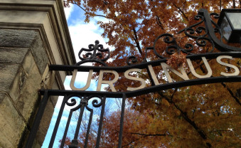 The entry to Ursinus College