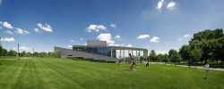 Our Kaleidoscope Performing Arts Center on a beautiful summer day. Visit Ursinus.
