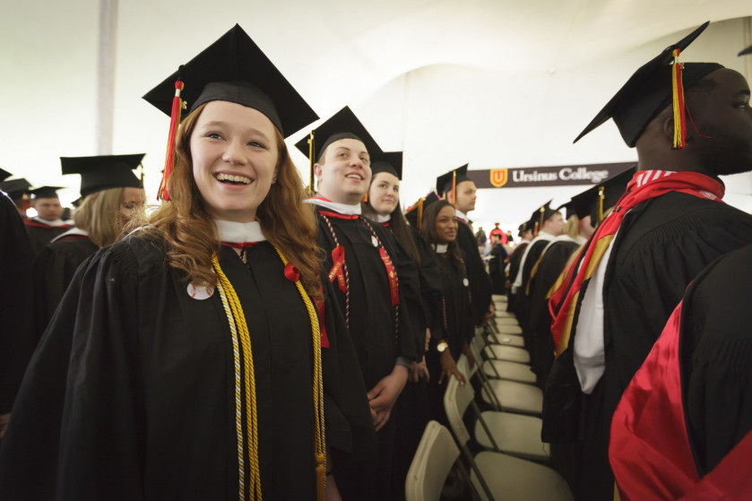 Congratulations to our 142nd graduating class! #ursinus2015