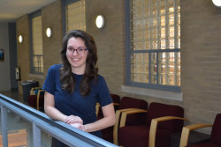 Jenna Pellegrino '17 will pursue a doctoral degree at the University of California, San Francisco.
