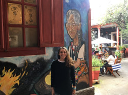 Roseangela Hartford '18 received a travel research grant from the Greater Philadelphia Latin American Studies Consortium.