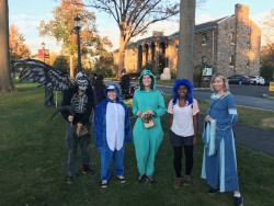 The annual Halloween parade brought members of the Ursinus and Collegeville communities together.