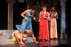 "Ursinus students perform ""Lysistrata."""