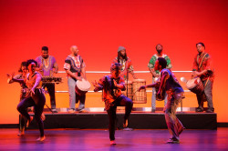 Ursinus students perform in a 2017 UCDC show.
