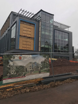 The Innovation and Discovery Center, currently under construction, will open in fall 2018.