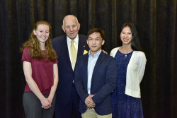 Three Ursinus students earned recognition for essays submitted to the college's fifth annual Richard T. Schellhase �...