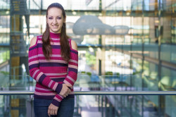 Aubrey Paris '15 was recognized as one of the world's top young chemists.