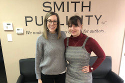 Corinne Moulder '07 (Smith Publicity, Inc.) hosted Millie Drury '21.