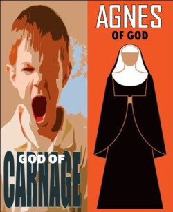 """God of Carnage and ""Agnes of God"" will run in repertory on the same stage."