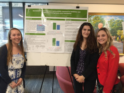Shannon Kiss '20 (second from left) is one of two Ursinus students chosen as a Goldwater scholarship recipient.