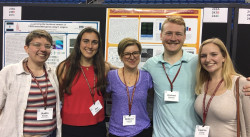 the 22nd International C. elegans Conference in Los Angeles brings together 1,500 researchers, including Ursinus students.
