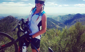 Melissa Rutkowski '12 is bicycling across the country to raise funds for multiple sclerosis.
