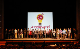 The U-Innovate business plan pitch competition, March 2014