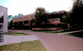 Thomas Hall, home to the Biology, Neuroscience and Psychology departments