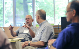 Scene from first Teagle Conference at Ursinus, July 2013