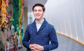 Ben Allwein '18 will perform research in India under a Fulbright scholarship.