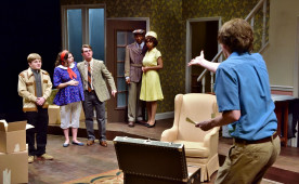 """Clybourne Park"" explores race in America with biting comedy and commentary as two sets of characters face their..."