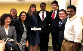 The Ursinus College Mock Trial team earned high marks at the American Mock Trial Association Regional competition.