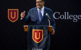 Michael Eric Dyson delivered a free public lecture at Ursinus on April 24.