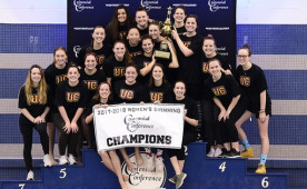 Winning Centennial Conference championships is becoming second nature to the Ursinus College women's swimming team.