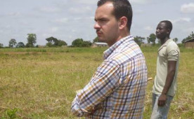 Ryan Welby in Togo