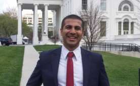 Aakash Shah '10 honored at the White House