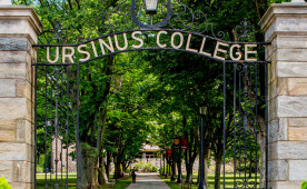 "Gateway on the campus of Ursinus College, recognized as a ""Undervalued Buy"" by Forbes Top Colleges"