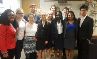 The Ursinus College mock trial team is excelling in competitions against other schools.