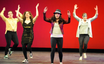 Students perform at the 35th annual Airband, which raised money for Girls Rock Philly.